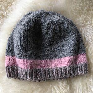 Hand-Knit Alpaca/Wool Blend Winter Hat